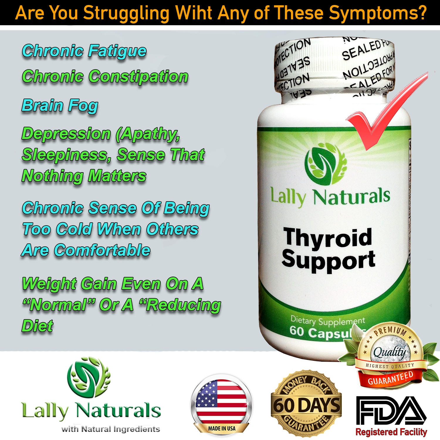 Thyroid Support - Lally Naturals